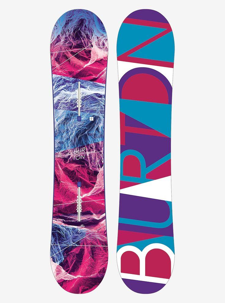 Burton Feelgood Smalls Snowboard shown in 130