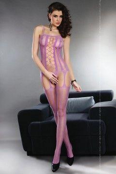 Bodystocking Almas african violet