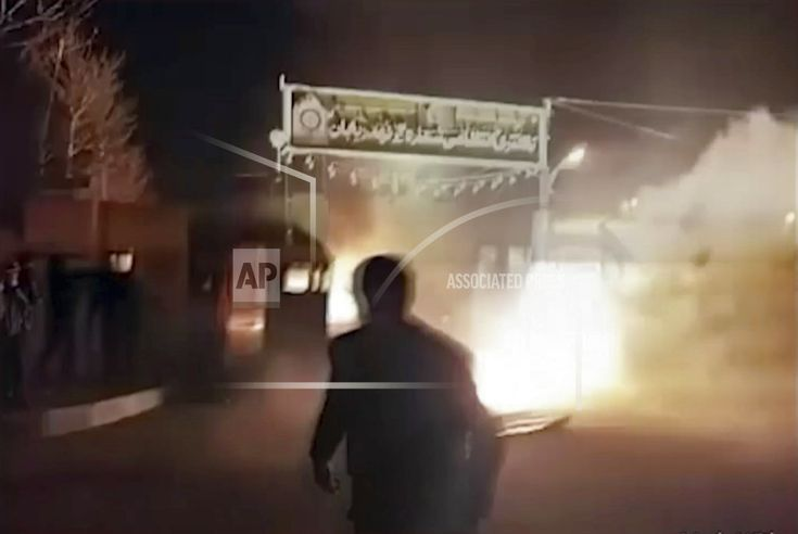 TEHRAN, Iran/January 03, 2018(AP)(STL.News)—Iranian state media are airing footage of pro-government demonstrations in cities across the country after a week of protests and unrest over the country's poor economy. The English-language broadcaster PressTV broadcast the rallies live on W... Read More Details: https://www.stl.news/pro-government-rallies-iran-after-days-protest-unrest/60415/