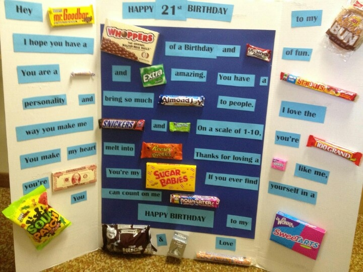 The 25 best Candy birthday cards ideas on Pinterest Candy cards