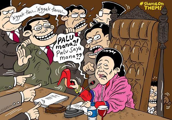 Mice Cartoon, #ShameOnThem: Palu Saya Mana?