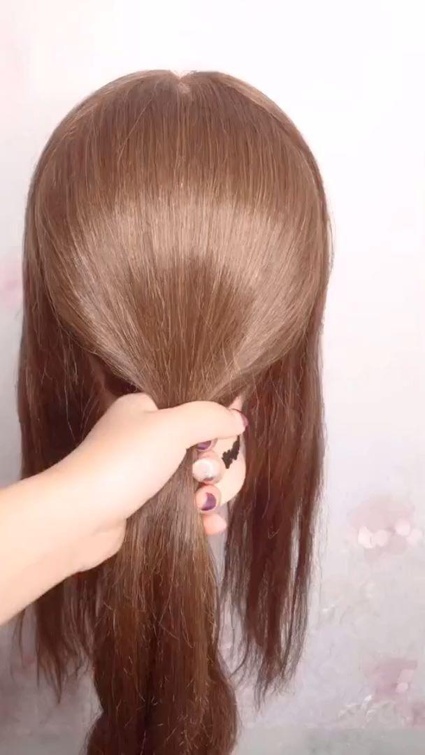 Hairstyles For Long Hair Videos Hairstyles Tutorials Compilation 2019 Part 314 New Site Lange Haare Video Lange Haare Frisuren