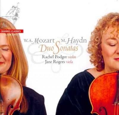 Rachel Podger - Mozart: Duos for Violin and Viola K. 423 & 424, Menuetto K. 487