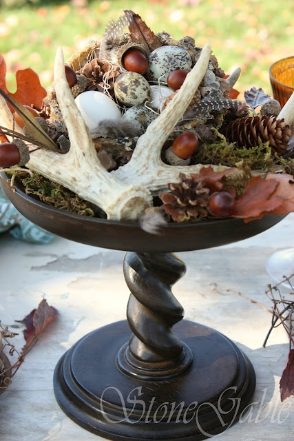 45 best southern living decor images on pinterest for Antler decoration ideas
