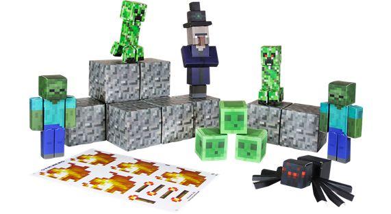 MINECRAFT Papercraft -viholliset 16,99 €