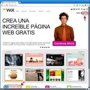 crear pagina web gratis