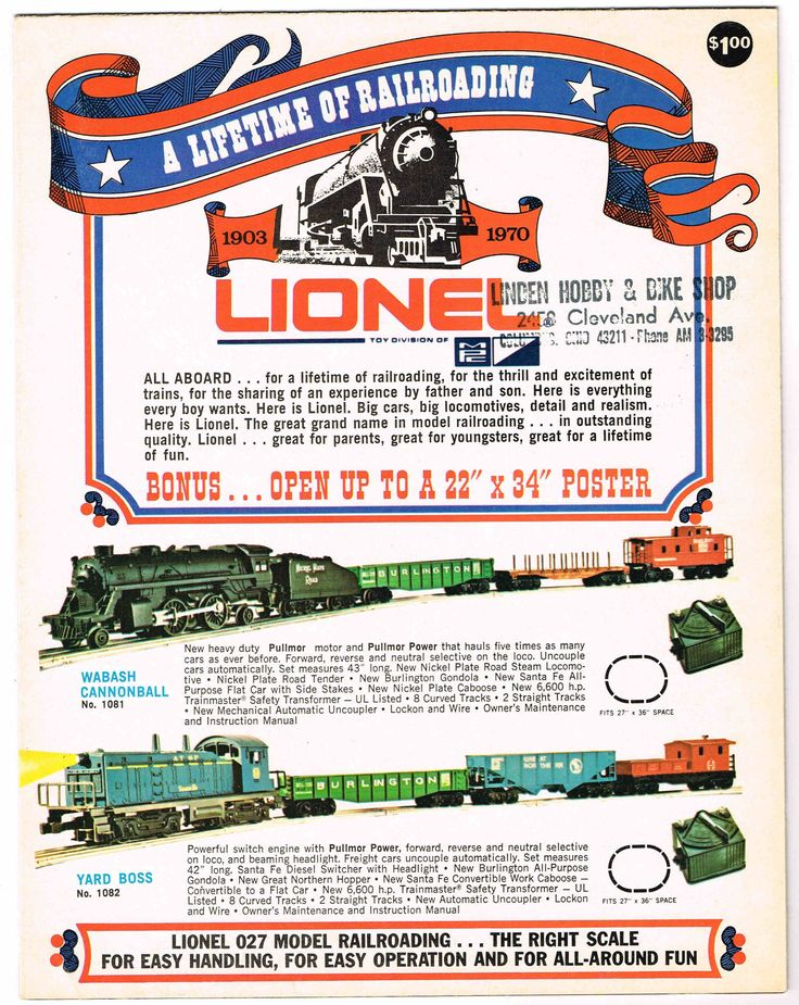 353 best images about lionel trains cars auction 1970 lionel catalog in 1969 general mills mpc purchased lionel and moved production