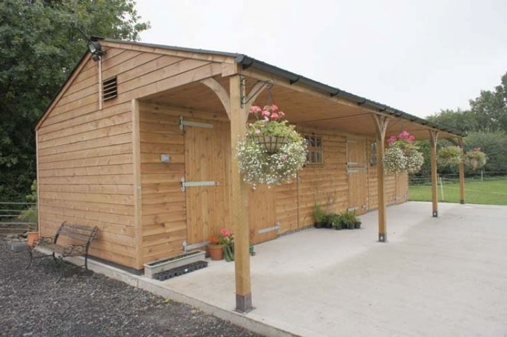 Stable Blocks - Stables & Hay Barn - Equestrian buildings - Horse Stables