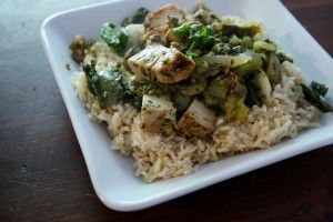 Thai Lime Basil Chicken Stir Fry
