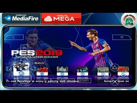 DOWNLOAD PES 2019 LITE HIGHLY COMPRESSED 300MB PPSSPP FULL