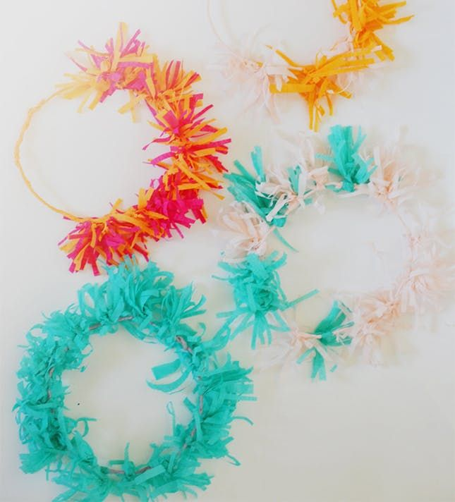 23 Cute And Quirky Crepe Paper Crafts To Diy Crepe Paper Crafts