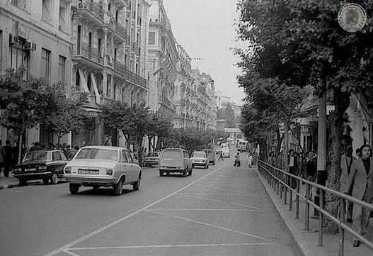 La Rue Michelet (actuelle Didouche Mourad ) en 1973
