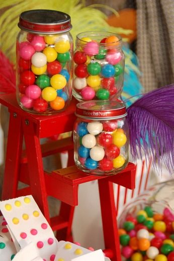"Photo 27 of 28: Vintage Carnival / Baby Shower/Sip & See ""Vintage Carnival Baby Shower"" 