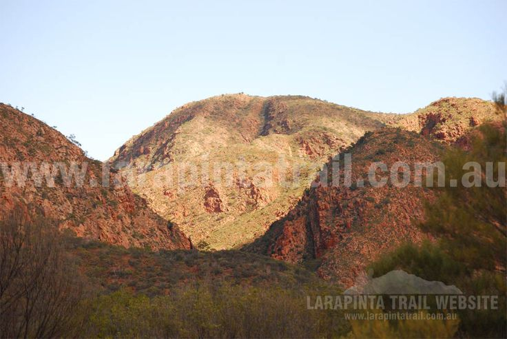 Great mountainous scenery along Section 2, Larapinta Trail. © Explorers Australia Pty Ltd 2013