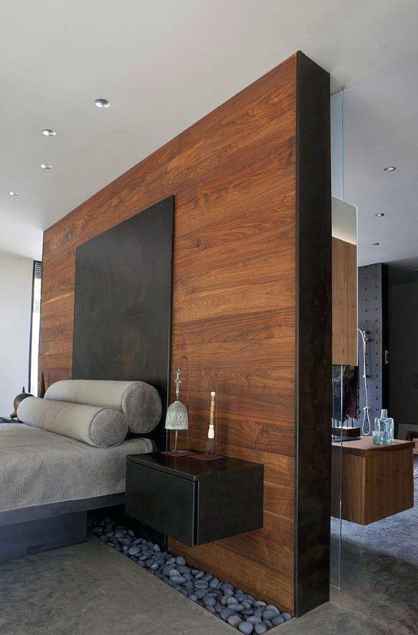 Bedroom Wood Wall Ideas  60 Men's Bedroom Ideas  Masculine Captivating Trendy Bedroom Designs Decorating Design