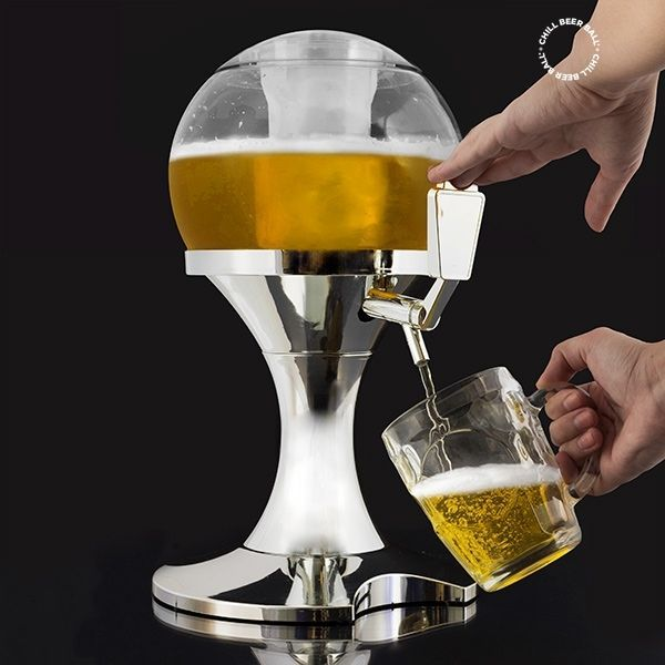 Beer Dispenser for Home, Bar ,Party Cold Drinks Chill Fresh Cooling Tap 3.5 L  | eBay