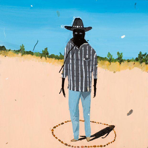 Richard Lewer -  Frank Ansell – Nungkari and rain maker 2013