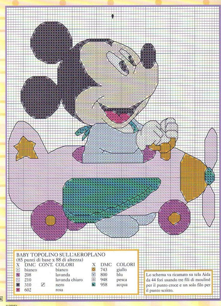 Disney - Mickey - Airplane                                                                                                                                                                                 Mehr