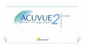 Soczewki kontaktowe Acuvue 2 6 szt. 8.3 - soczewki dwutygodniowe, sferyczne