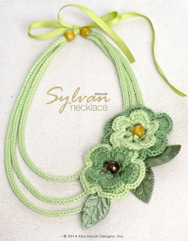 Sylvan Crocheted Necklace | Free Pattern for Kids and Adult