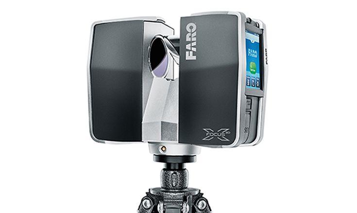Escáner láser portátil, de Faro, hasta 130 m