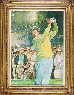 Walt Spitzmiller - Sam Snead 1999 PGA Tour Lifetime Achievement Award