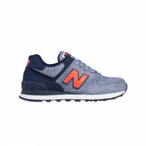 Sneakers Running Femme NEW BALANCE NB-574 Bleu/Orange
