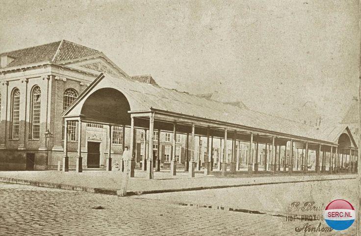 Korenmarkt Arnhem (jaartal: 1890) - Foto's SERC