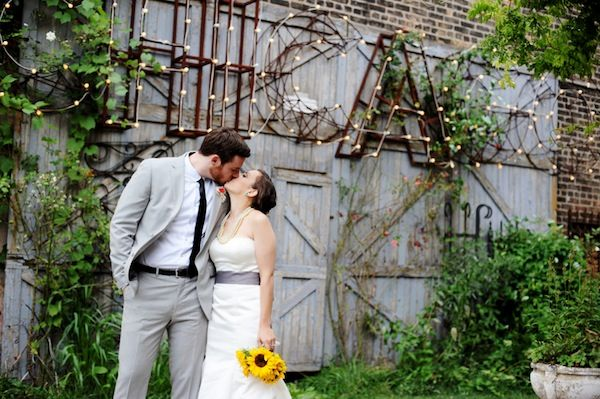 Eclectic Urban Chic Wedding At Salvage One, Chicago | Two Birds Photography
