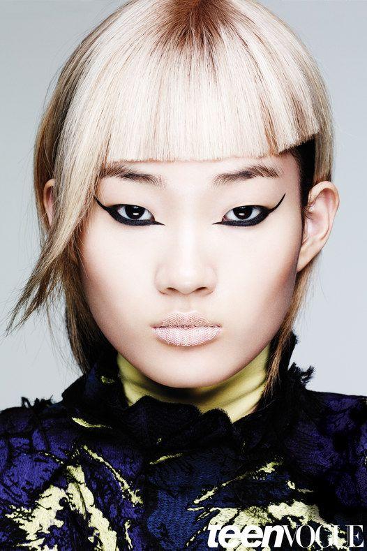 Teen Vogue September | Premier Hair and Makeup Makeup by Lisa Eldridge