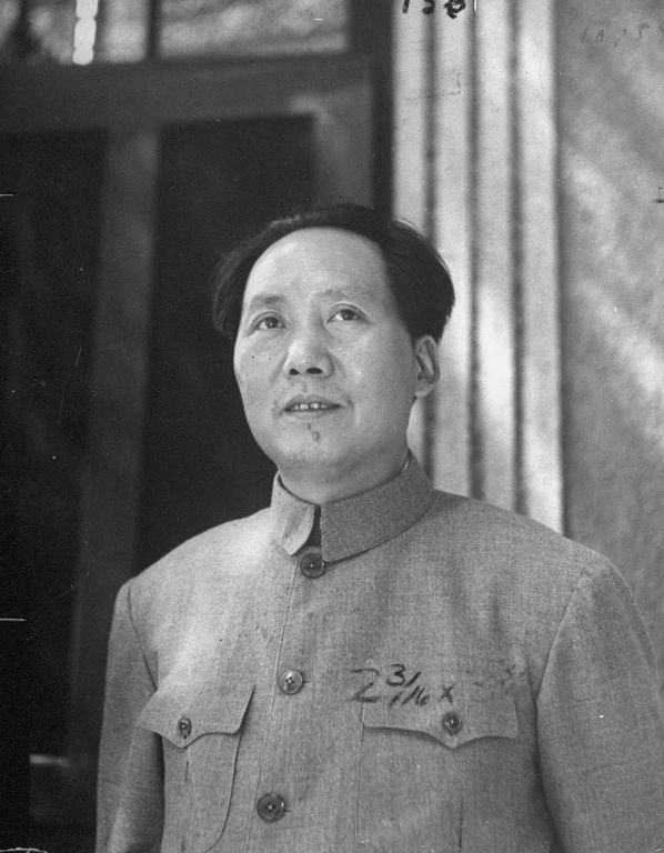 Jack Wilkes1945 该作品的收藏者: LIFE Photo Collection Chinese Communist ldr. Mao Tse Tung.