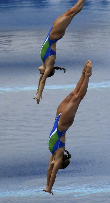 Diving Women's 3m Synchro Springboard: Cagnotto and Dallapè, Silver Medal