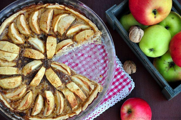 Voyage au pays de la patisserie: La tarte aux pommes