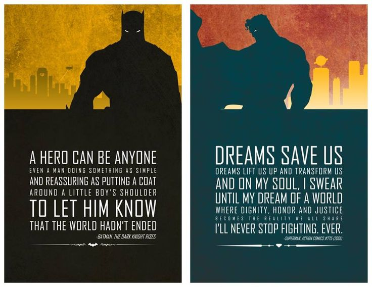 Nic Superhero quote poster from http://www.behance.net/ATom Quotes 3 ...