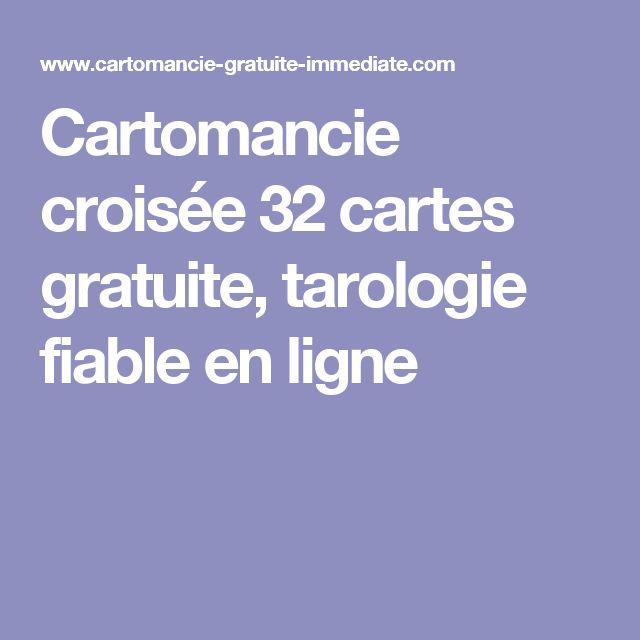 Cartomancie croisée 32 cartes gratuite, tarologie fiable en ligne