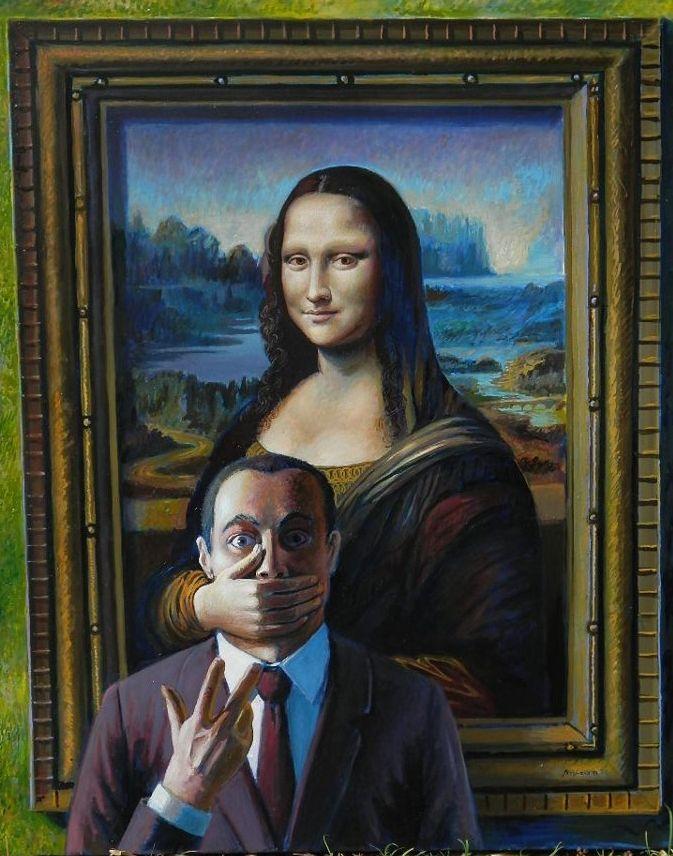 Oh, Leonardo… Ernesto Arrisueno