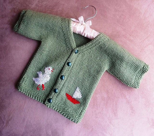 Knitting Pattern For One Piece Baby Sweater : 25 best images about knitting --jaquard on Pinterest ...