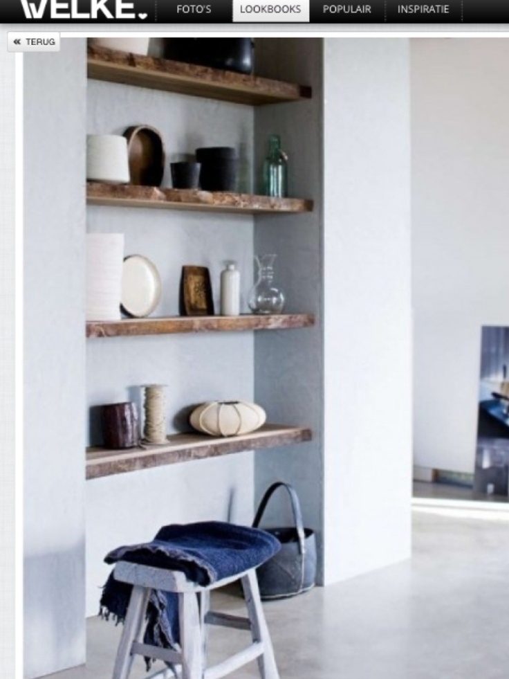Steigerhouten planken samen met jouw mooiste spulletjes maken iedere ruimte persoonlijk   piet klerkx