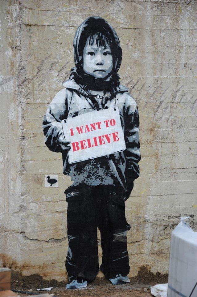 "Artist :Van Ray   "" I WANT TO BELIEVE """