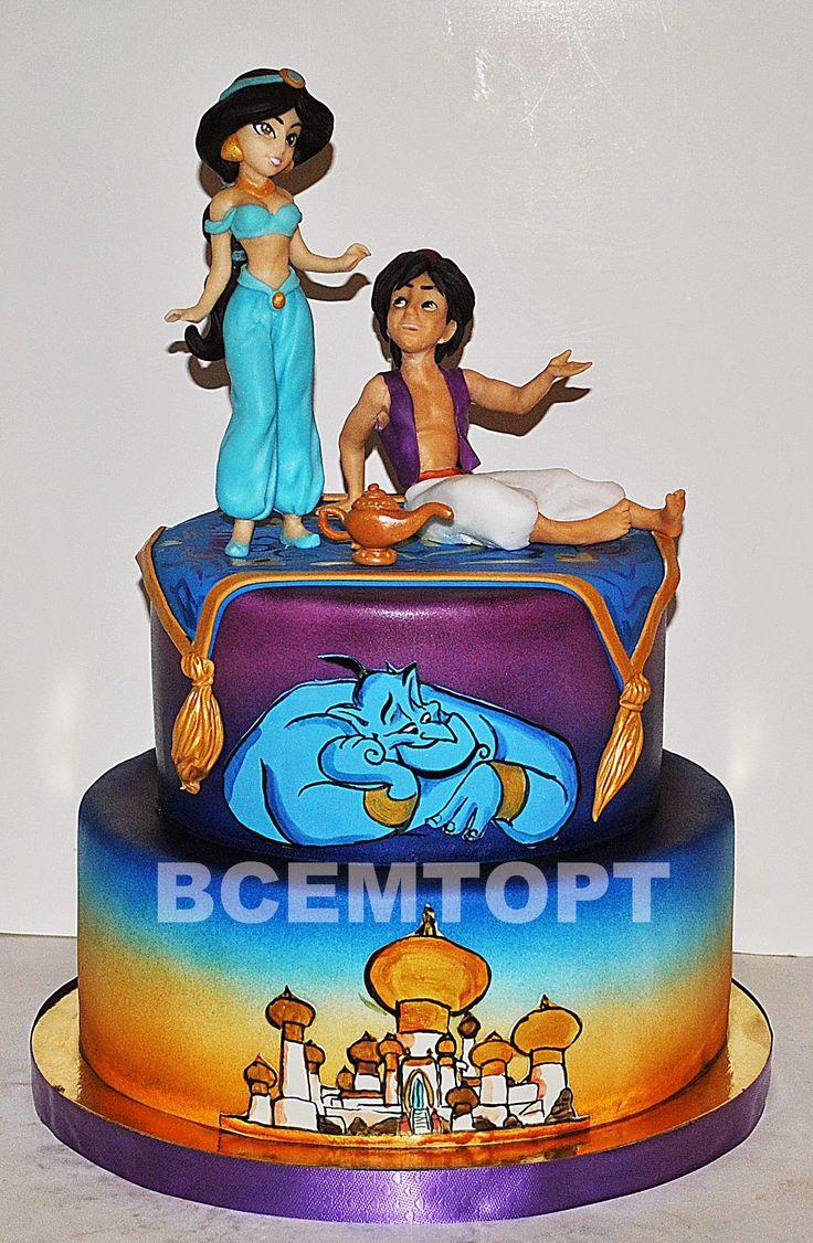 Детский торт Аладдин. Заказ торта в Москве на день рождения для детей