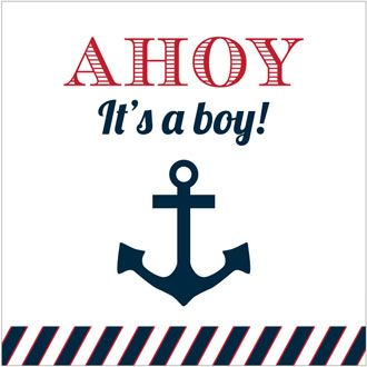 109 Best Ahoy! Itu0027s A Boy! Baby Shower Images On Pinterest | Boy Baby  Showers, Its A Boy And Baby Shower Nautical