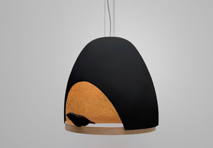 oiseau lamp by olivier chabaud + jean-francois bellemere for compagnie
