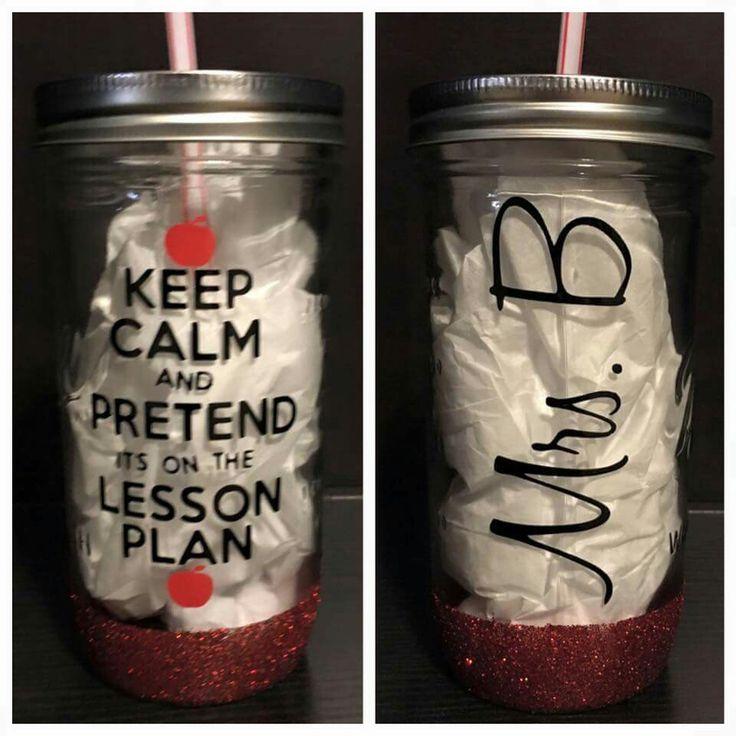 Teacher Gifts - vinyl on a mug or cup!