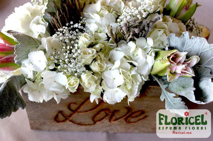 Tweets con contenido multimedia de Espuma floral (@espumafloral) | Twitter- -  FLORICEL es la espuma floral para los #centrosdemesa más tiernos. #Centerpiece #floralfoam #WetFoam