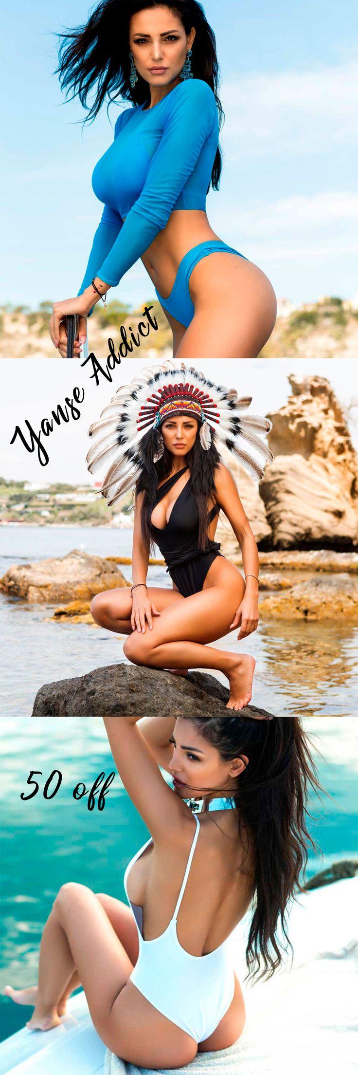 The beachwear woman ! Yanse Addict for no33.eu - Beachwear luxury & top shopping worldwide. Maria Teresa Buccino.