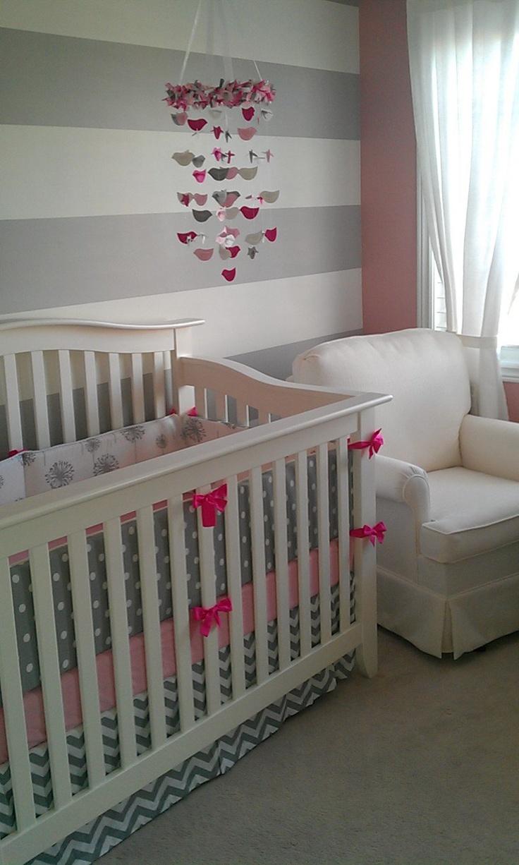 Awesome Design Your Own 3 Pcs. SET Custom Crib Bedding   Back To Basics Ele Chevron Part 4