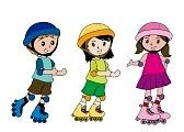Skate Boy. Niños patinadores.