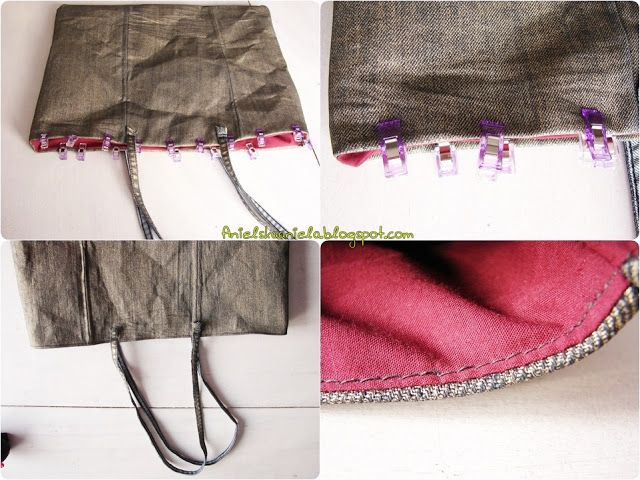 Diy tutorial gold tote bag ,handmbag Handmade  Klik