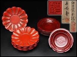 Image result for 鎌倉彫 茶托