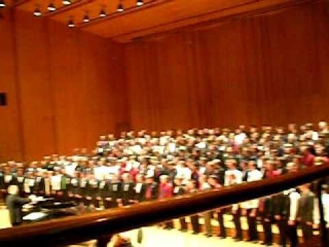 Dona Nobis Pacem Utah All State Honor Choir 2010